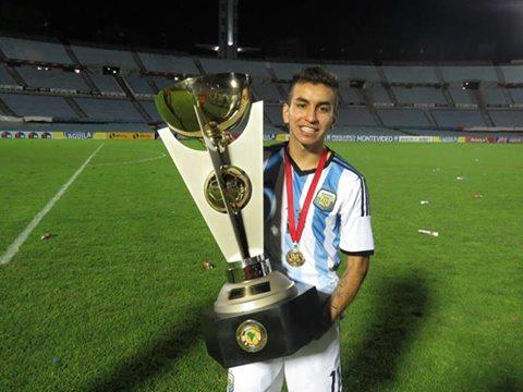 Nova joia Argentina, Angel Correa foi o melhor jogador do torneio (Foto: arquivo pessoal)
