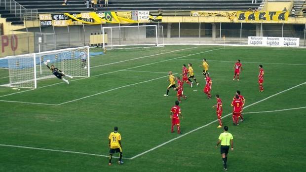 Atlético durante a Copa Paulista do ano passado (Foto: Divulgação/São Bernardo)