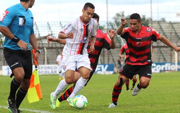 Oeste durante a Série B de 2014 (Foto: Divulgação/Joinville)