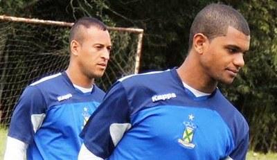 Muller Fernandes (à direita) é o matador do Ramalhão (Foto: Divulgação / Santo André)