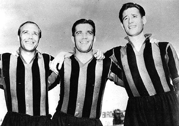 O famoso trio Gre-No-Li (Foto: Reprodução)
