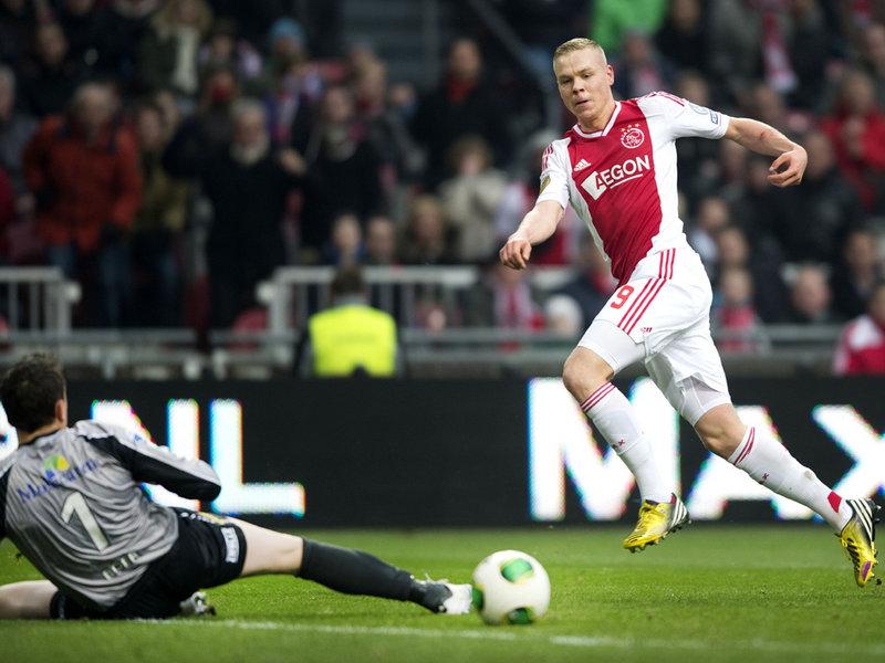 Sigthorsson em ação pelo Ajax (Foto: Ajax/Divulgação)