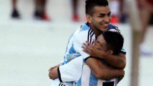 O craque argentino Angel Correa é uma das esperanças para o ouro (Foto: Divulgação/Clarin.com)