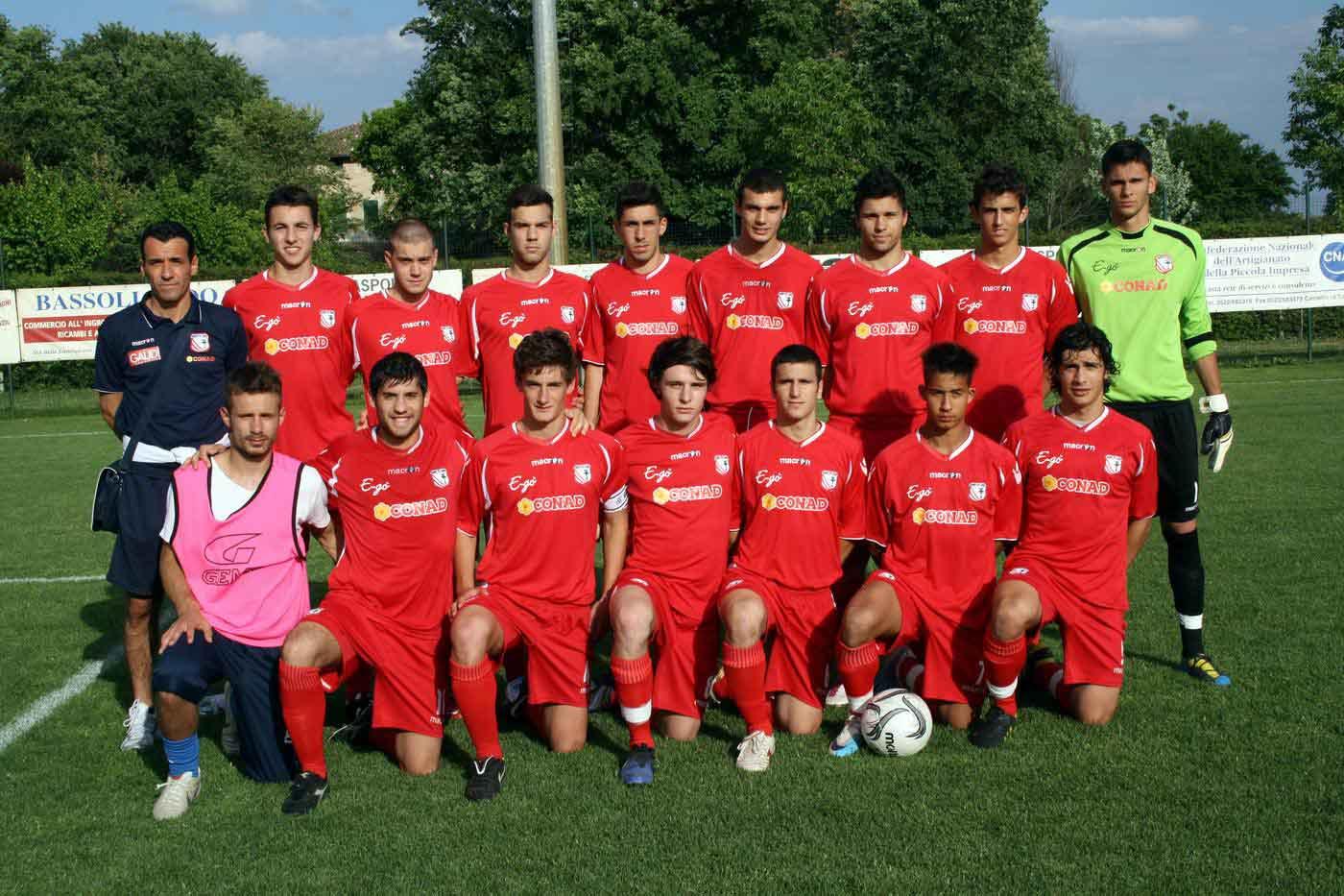 O time perfilado do Carpi, surpresa na Itália (Foto: Carpi FC/Divulgação)