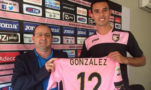 González é o dono da camisa 12 do Palermo (Foto: Divulgação/Assessoria)