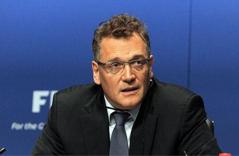 O secretário-geral da FIFA, Jerome Valcke, defende a Copa em novembro (Foto: FIFA/Divulgação)