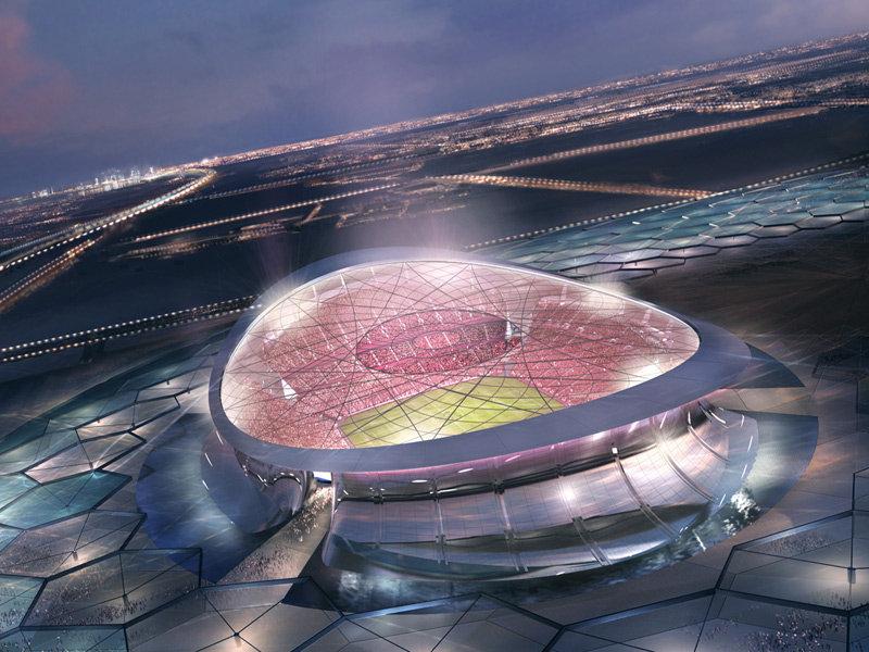 Estádio Lusail Iconic, que deve ser o palco da final (Foto: FIFA/Divulgação)