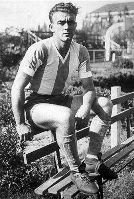 Di Stéfano com a camisa da Argentina (Foto: Reprodução)