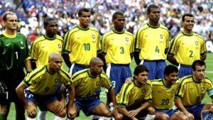 Dunga e César Sampaio disputaram a Copa do Mundo 1998 (Foto: Reprodução)