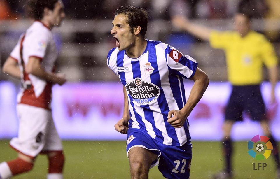 Celso Borges chegou há pouco tempo, mas já é insubstituível no Deportivo (Foto: Divulgação/LFP)