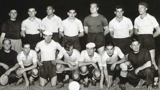 Celeste campeã da Copa América em 1942 (Foto: CBF/Divulgação)