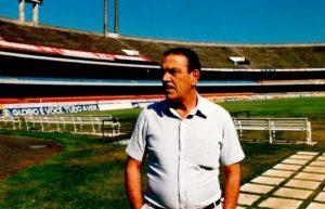 Gino, já como administrador do Morumbi (Foto: Reprodução / Site Oficial do São Paulo)