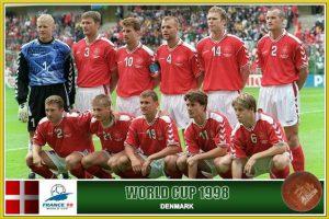 Seleão Dinamarca 1998