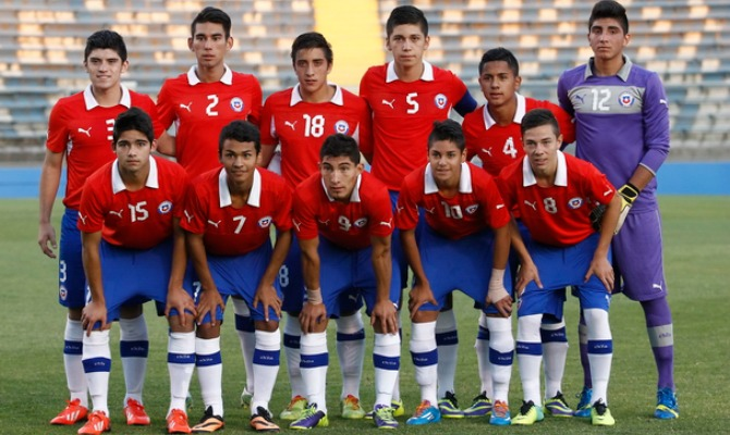 Seleção do Chile tenta o primeiro título na competição (Foto: Divulgação/Federação Chilena)