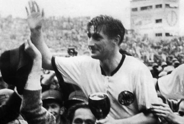 Capitão em 54, Fritz Walter poderia ser um dos destaques em 46 (Foto: FIFA/Divulgação)