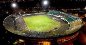 Visão do Palma Travassos durante uma partida no estádio (Foto: Reprodução/comefogonet.com.br)