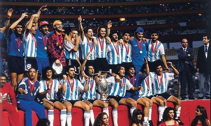 Último título da seleção principal da Argentina foi na Copa América de 1993 (Foto: Reprodução /  AFA)