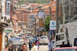Vista da capital do Kosovo, Prishtina (Foto: Reprodução/michaeltotten.com)
