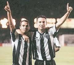 A dupla entre Marques e Guilherme marcou época no Galo (Foto: Reprodução)