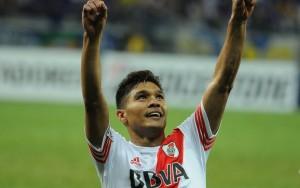 Teo Gutiérrez marcou 3 dos 12 gols do River na competição (Foto: Diego Haliasz/Prensa River)