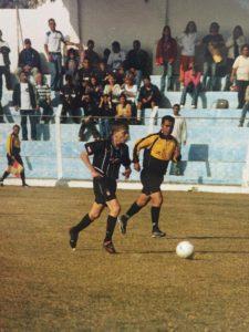 Paulo Vitor em ação pelo Corinthians (Foto: Arquivo Pessoal)