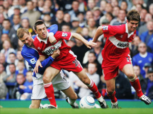 Doriva foi importante jogador no Middlesbrough (Foto: Reprodução/thefalsenine.com)