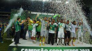 O Cuiabá surpreendeu e conquistou o campeonato (Foto: Divulgação/cbf.com)