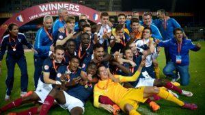 A França goleou e foi campeã da Euro sub-17 (Foto: Divulgação/fifa.com)