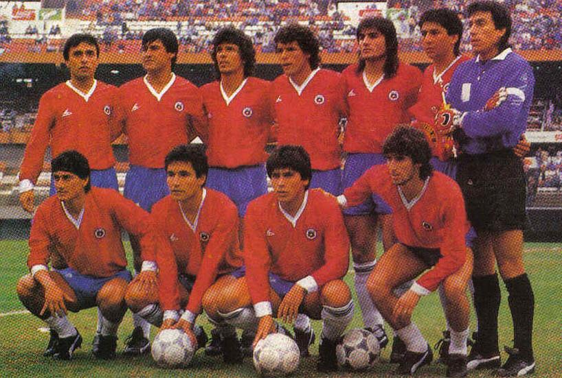Desacreditado, Chile de 1987 surpreendeu ao alcançar a final da Copa América (Foto: Reprodução)