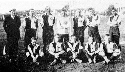 Seleção chilena em 1910 (Foto: Reprodução)