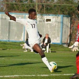 O veloz Yeboah é um dos destaques (Foto: Reprodução/Twitter)
