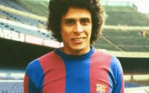 Roberto Dinamite na rápida passagem pelo Barcelona (Foto: Reprodução/paraisoweb.com)