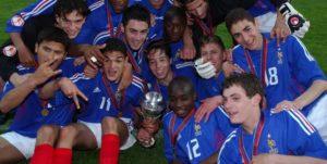 A França campeã europeia sub-17 (Foto: Repodução/lequipe.fr)