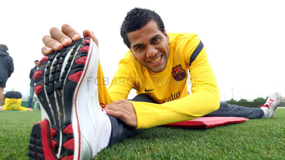 Até hoje titular, Daniel Alves foi um dos pilares da Era Guardiola no Barça (Foto: FCB)