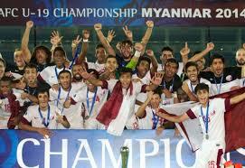 Qatar foi campeão Asiático sub-19 (Foto: Divulgação/the-afc.com)
