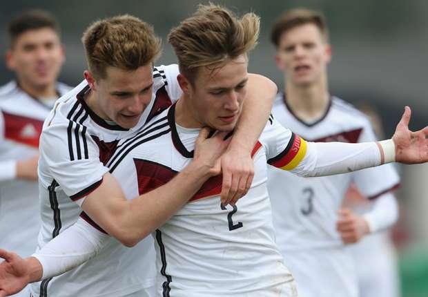 Eggstein e Passlack são nomes de peso do forte time alemão (Foto: Divulgação/DFB)