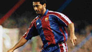 Um dos ídolos do Barcelona, Romário (Foto: Divulgação/fcbarcelona.com)