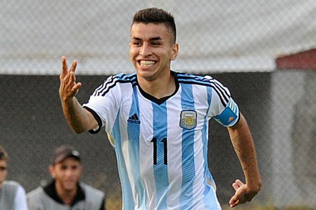 Ángel Correa superou um câncer e é a estrela da seleção argentina (Foto: Divulgação/Conmebol)