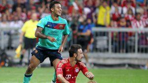 Naturalizado espanhol Thiago Alcantara foi revelado no Barça, mas trocou a Espanha pela Alemanha recentemente (Foto: FCB)