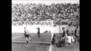 No único jogo da Bolívia na Copa de 1950, o Uruguai massacrou: 8 a 0. (Foto: Reprodução)