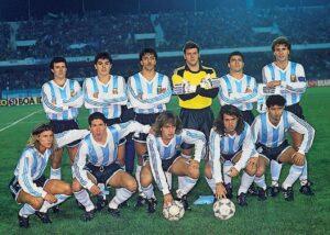 Equipe da argentina que foi campeã no Chile (Foto: Reprodução)