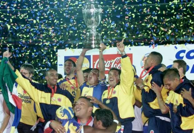 Colômbia Copa América 2001