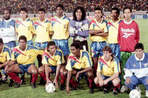 A ótima seleção equatoriana de 1993 (Foto: Reprodução/barcenet.com)