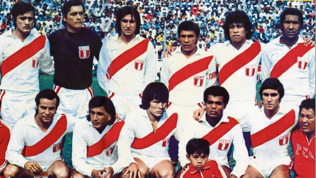 Liderada por Cubillas, Seleção peruana fez história na década de 70 (Foto: Reprodução)