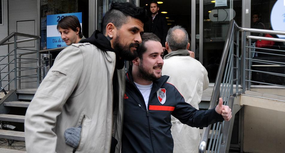 Lucho confirmou o retorno ao River Plate na semana passada (Foto:Diego Haliasz/River)