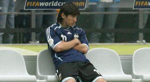 No banco, Messi não pôde ajudar seu time em 2006 (Foto: Divulgaçã/FIFA)