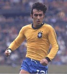 Lateral Nelinho era o destaque brasileiro na Copa América de 75 (Foto: Reprodução)