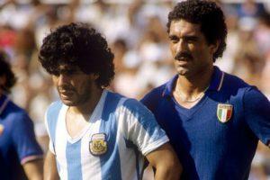 Gentile foi o carrapato de Maradona (Foto: Reprodução/ojogo.com)