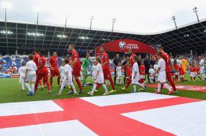 Inglaterra na Eurocopa: 100% de aproveitamento (Foto: Reprodução)
