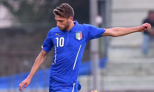 Berardi é um dos maiores destaques da nova geração italiana (Foto: Federação italiana/Divulgação)